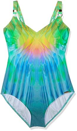 Sunflair Magic Pearls, Maillot Une Pièce Femme, Multicoloured (Multicolor 99), 120F