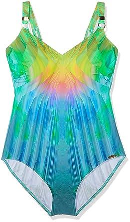 c5ffe0daaf5196 Sunflair Damen Magic Pearls Swimsuit, Mehrfarbig (Multicolor 99), 40B