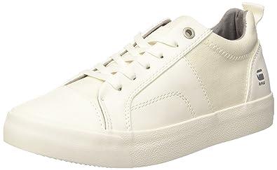G-STAR RAW Scuba Plateau, Baskets Hautes Femme, Blanc (White), 36 EU
