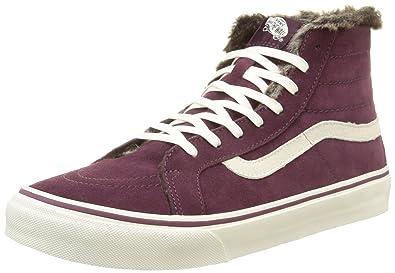 28d98f18ca Vans Adults  Sk8-hi Wool High-Top Sneakers  Amazon.co.uk  Shoes   Bags