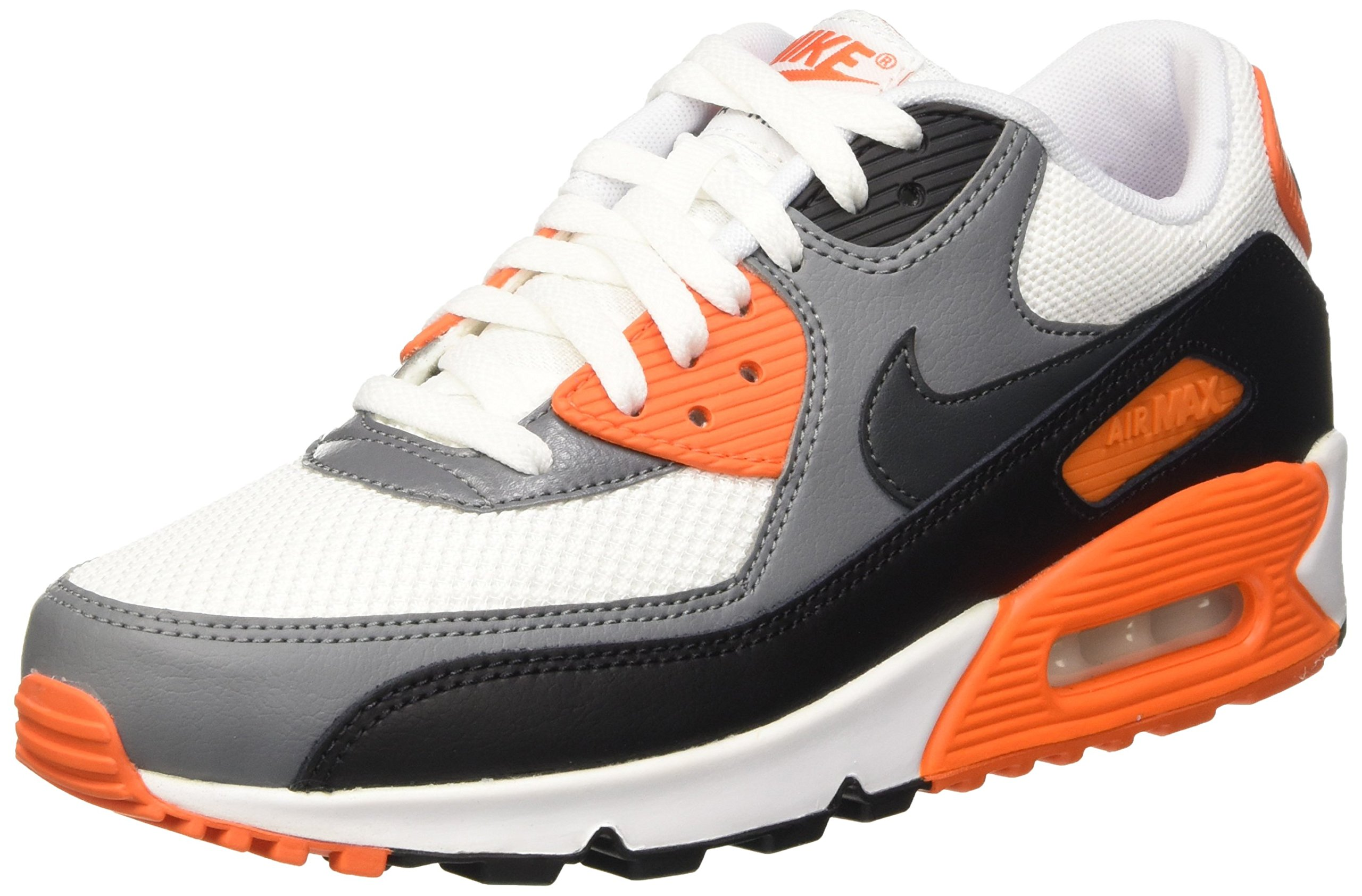 finest selection 852d6 1f483 Galleon - NIKE Men s Air Max 90 Essential Sneakers, White Black   Grey ( White Anthracite-Cool Grey-Blk), 11.5 UK