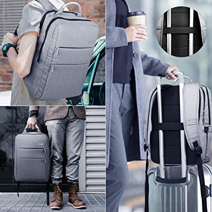 cb35a2cc4192 ... HOMIEE Laptop Backpack with USB Charging Port