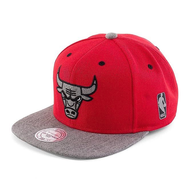 Mitchell & Ness Mujeres Gorra Snapback Greytist Chicago Bulls ...