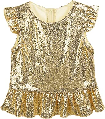 girls sparkly top