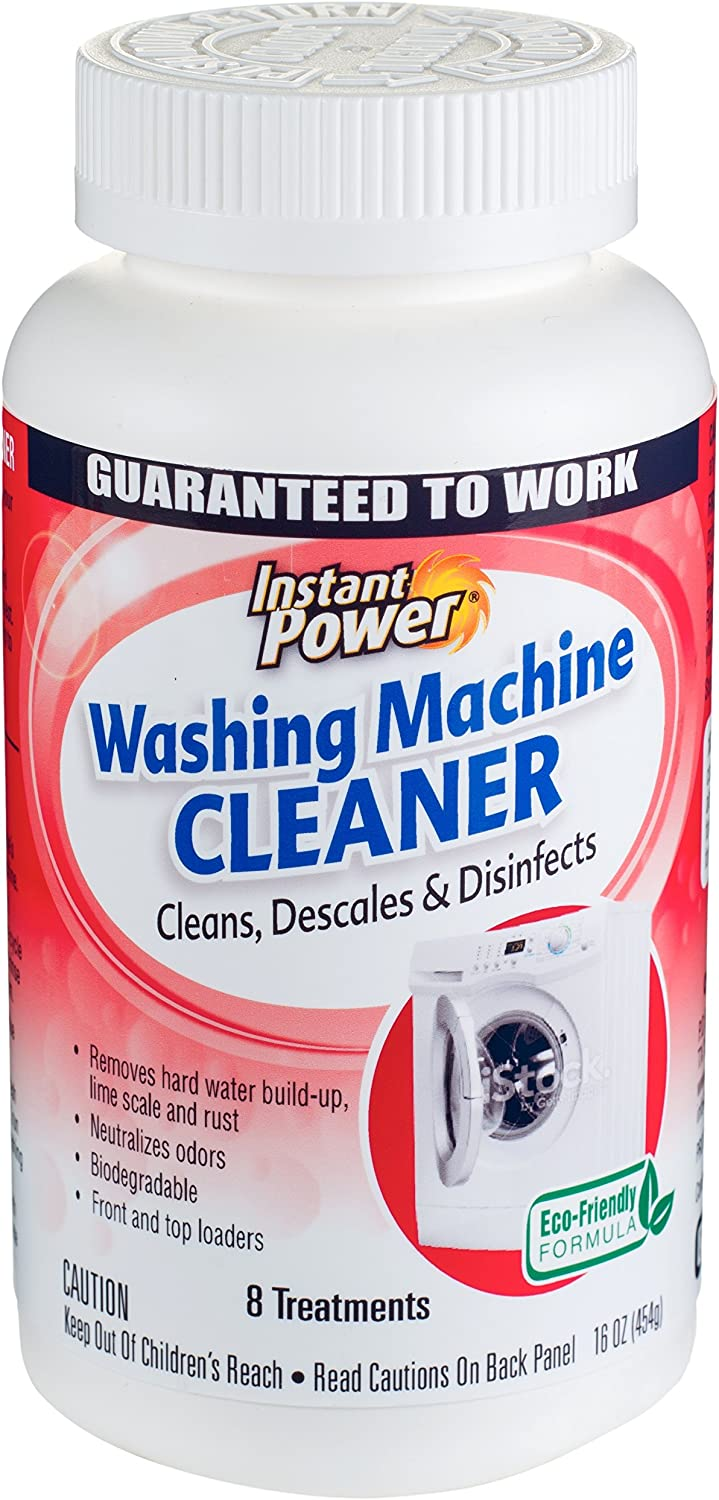 Instant Power Washing Machine Cleaner, 16 Ounce
