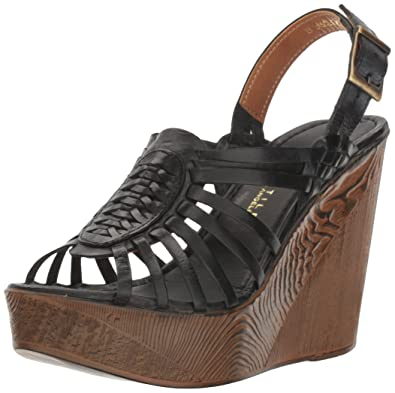 9d7ebe6af92 Very Volatile Women s Prolific Wedge Sandal Black 8 ...