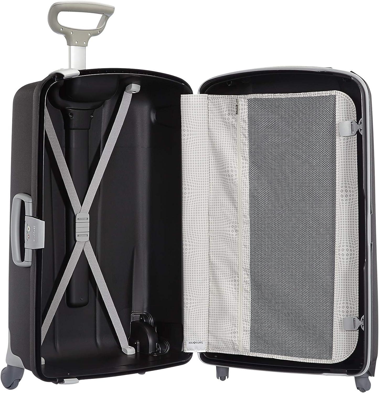75 cm 87.5 Litre Black Black Samsonite Aeris Spinner L Suitcase Luggage