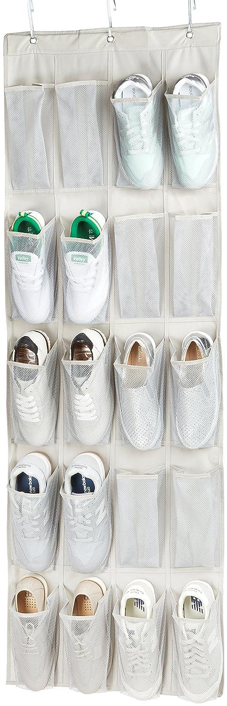 zapatero Colgante Amazon Basic para 10 pares de zapatos