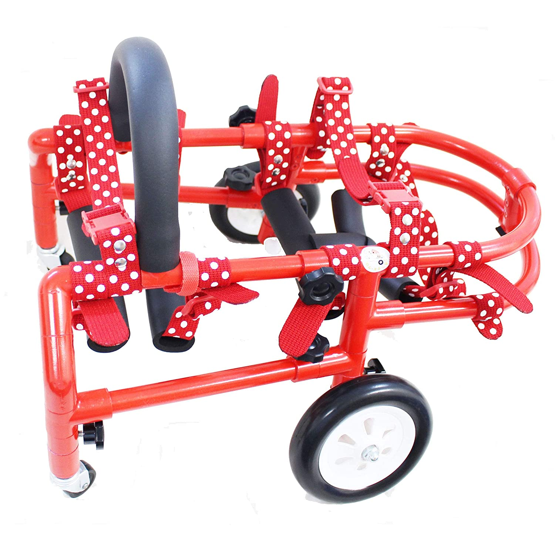 犬 車椅子(車いす)歩行補助 2輪 4輪 小型4輪 小型 (中型2輪, 中型 動物病院 獣医師 小型4輪 赤 推奨 (中型2輪, 赤) B07JNRJHFV 赤 小型4輪 小型4輪 赤, エクサスEXASカジュアル服飾雑貨:c58b3b16 --- itxassou.fr