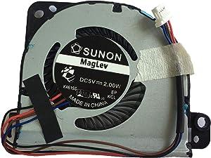 DoWee Cooling Fan for Toshiba Portege Z830 Z835 Z930 Z935 Compatible G61C0000J210, G61C0000Y110, MF60120V1-C460-S9A