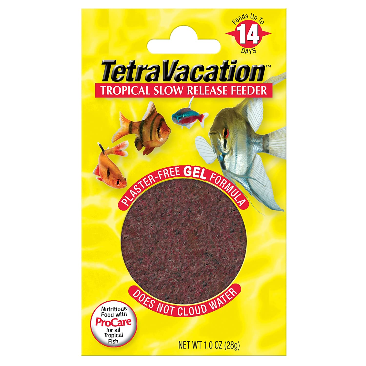Tetra 77150 Vacation Gel Feeder Block, 14-Day by Tetra B000HHQ5GY