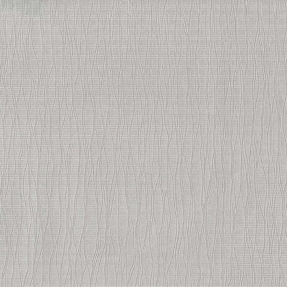Wavy Coast Aluminum Silver Moire Wallpaper For Walls - Double Roll - By Romosa Wallcoverings