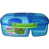 Sistema Lunch Triple Split Lunchbox mit Joghurttopf - 2 L