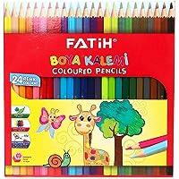 Fatih Tam Boy Boya Kalemi 24 Renk (Karton Kutu) 33225