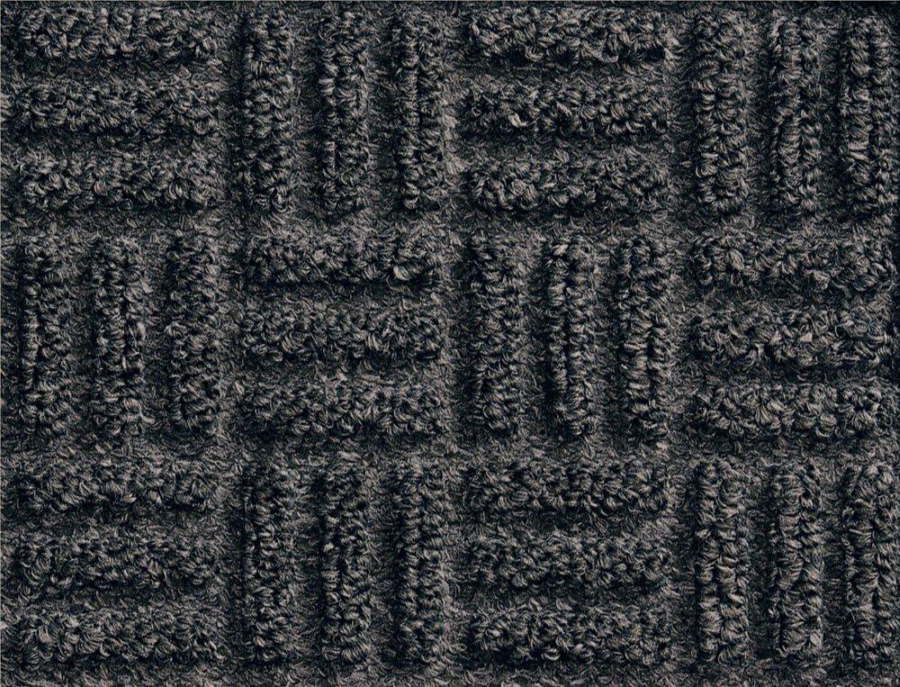 Andersen 265 WaterHog Masterpiece Select Polypropylene Fiber Entrance Indoor Floor Mat, SBR Rubber Backing, 8' Length x 3' Width, 3/8'' Thick, Thunderstorm