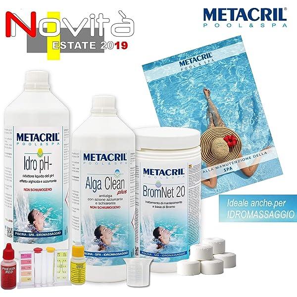 Starter Kit Brom para tratamiento de agua y mantenimiento de spa ...