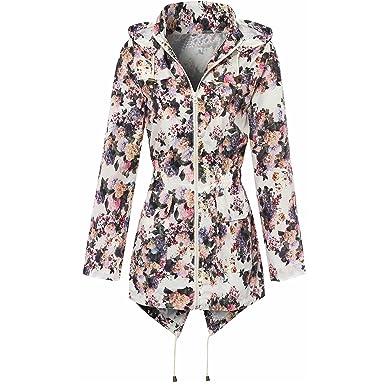 4b5f244f3 Amazon.com  Myshoestore Ladies Women Girls Rain Mac Raincoat Shower ...