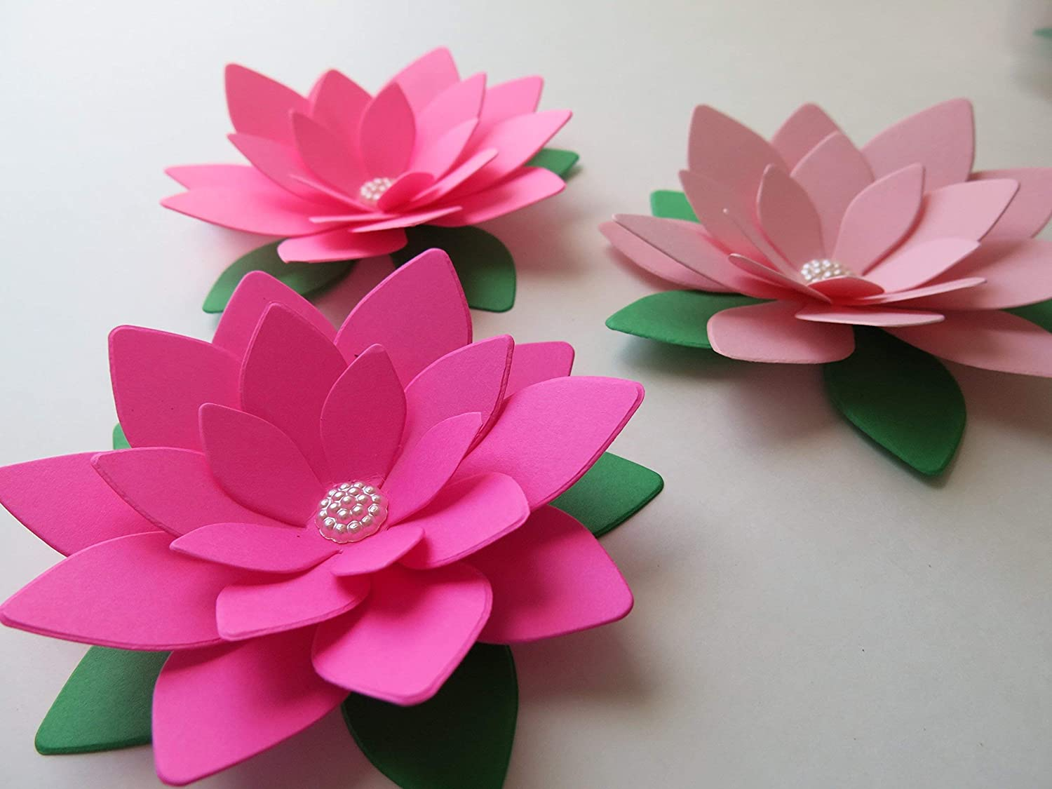 Origami Water Lily Kit - Papersmyths | 1125x1500