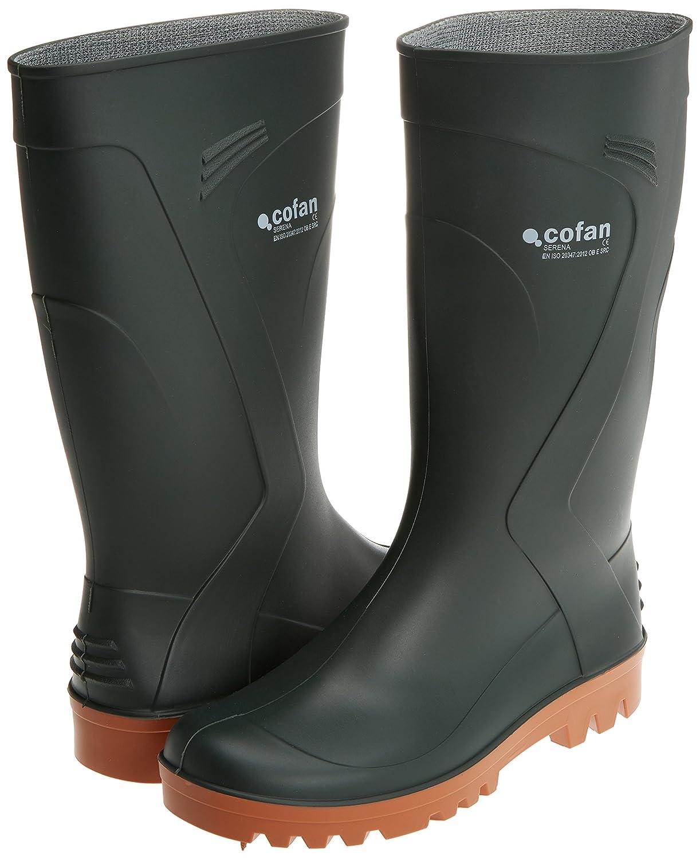 Cofan 12002941 - Bota de agua suela antideslizante (cuarzo, T-41) color verde: Amazon.es: Bricolaje y herramientas