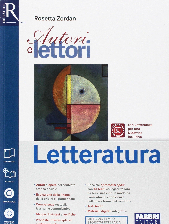 Amazon It Autori E Lettori Letteratura Per La Scuola Media Con E Book Con Espansione Online Con Libro Extrakit Zordan Rosetta Libri
