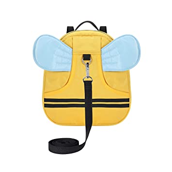 Baby Walking Safety Harness Leash Bee Bag Adjustable Kid Toddler Strap Backpack