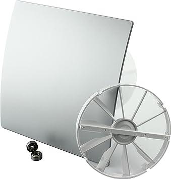 MKK – 18156 – Duo Diseño baño Ventilador Ventilador de pared Turbo ...