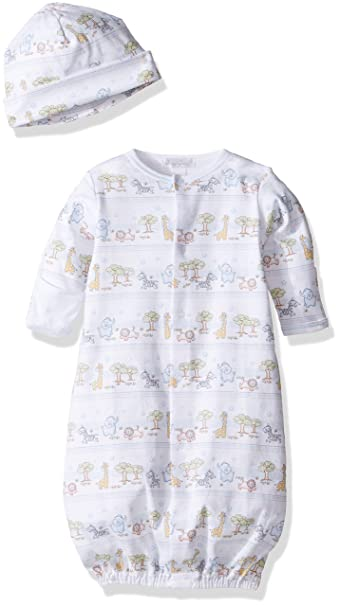 c27c9b0c1bc Amazon.com  Kissy Kissy Baby Boys  Jungle Menagerie Converter Gown (Baby)   Clothing
