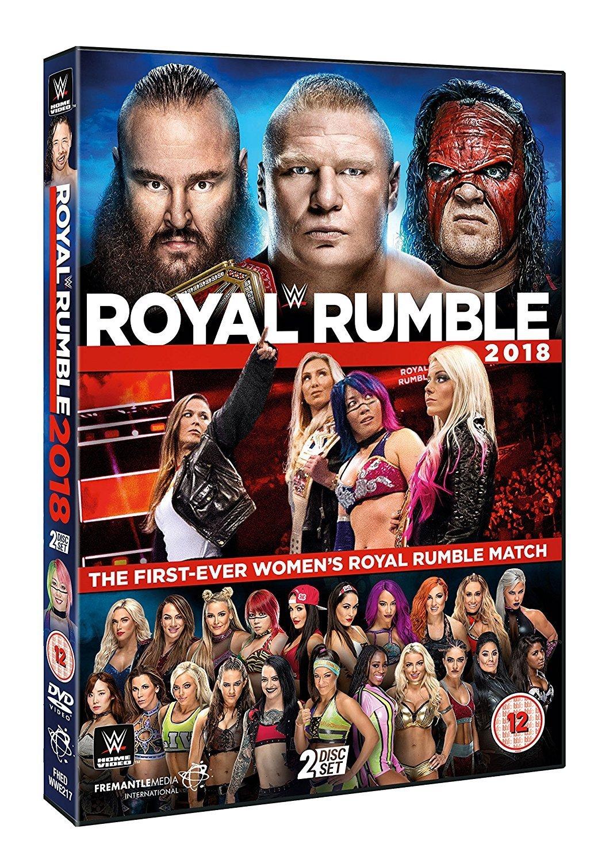 WWE: Royal Rumble 2018 [DVD] [Reino Unido]: Amazon.es: AJ Styles, Brock Lesnar, Dean Ambrose, AJ Styles, Brock Lesnar: Cine y Series TV