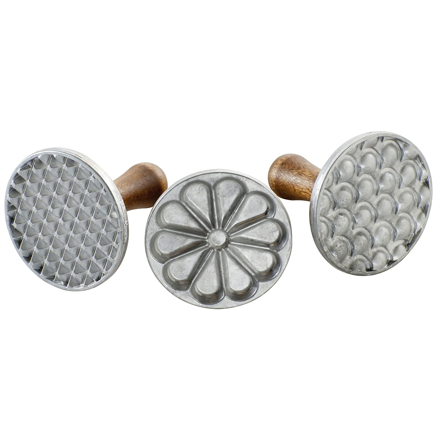 Nordicware All Season Cookie Impressions Stamps, Set of 3 Nordic Ware 01235