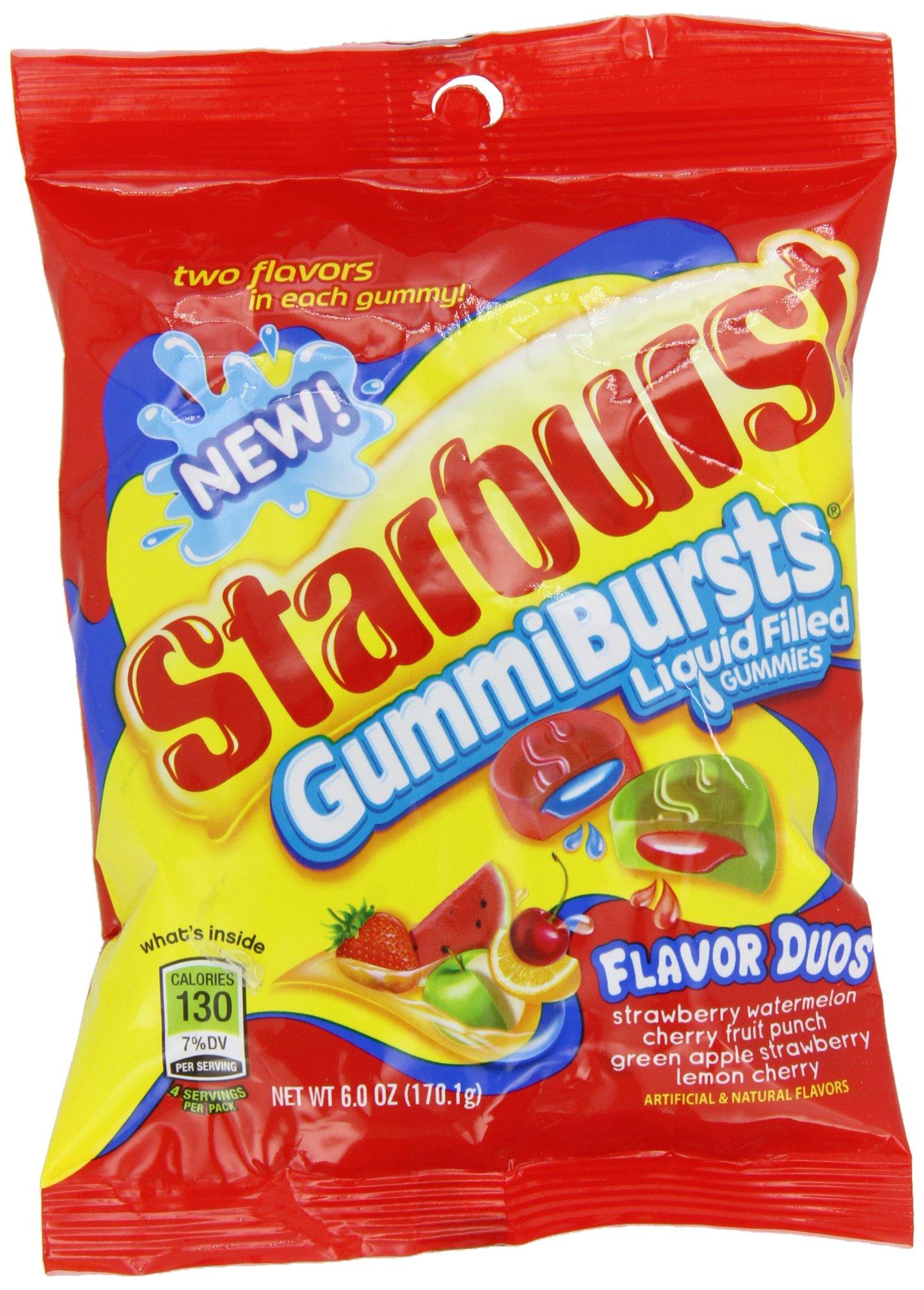 Starburst Gummiburst, 6 oz (Pack of 12)