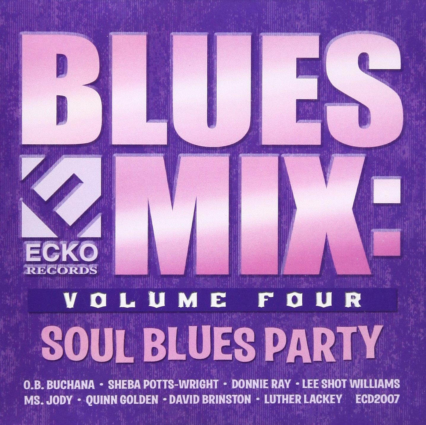 CD : VARIOUS ARTISTS - Blues Mix, Vol. 4: Soul Blues (CD)