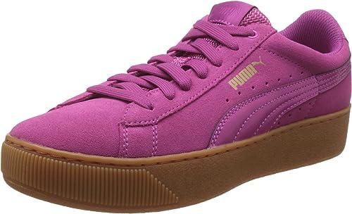 PUMA Women's Vikky Platform Low Top Sneakers