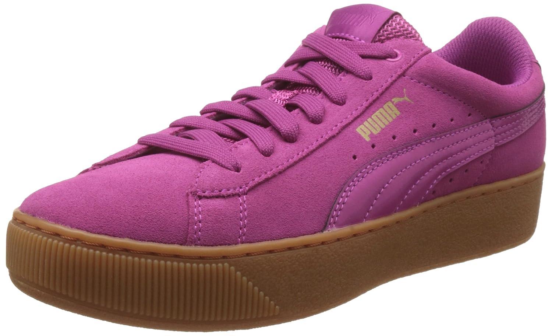 Puma Damen Vikky Platform Sneakers, Rose Violet, 37 EU  42 EU|Pink (Rose Violet-rose Violet 04)