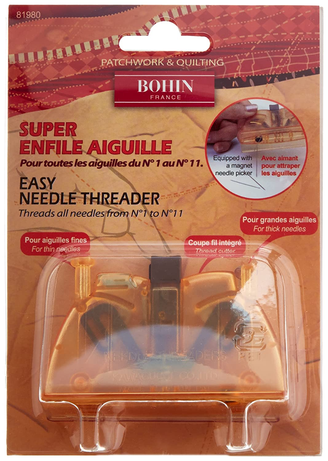 Bohin Super Automatic Needle Threader 81980