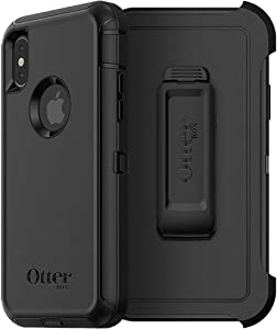 OtterBox Defender Series Case for iPhone Xs & iPhone X - Non-Retail Packaging - Black