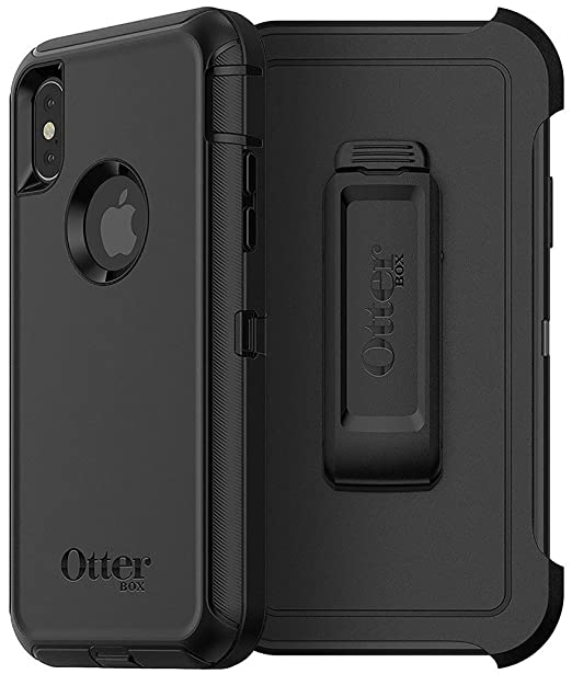 best service 54970 be3c0 OtterBox Defender Series Case for iPhone Xs & iPhone X - Non-Retail  Packaging - Black