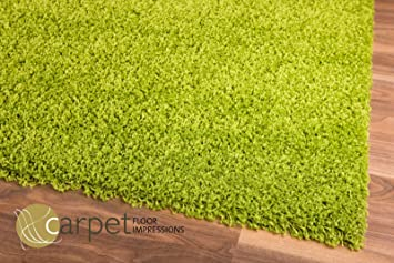 Shaggy hochflor teppich grün in cm amazon küche