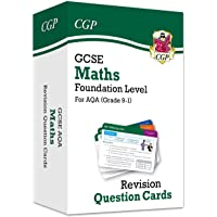 New Grade 9-1 GCSE Maths AQA Revision Question Cards - Foundation