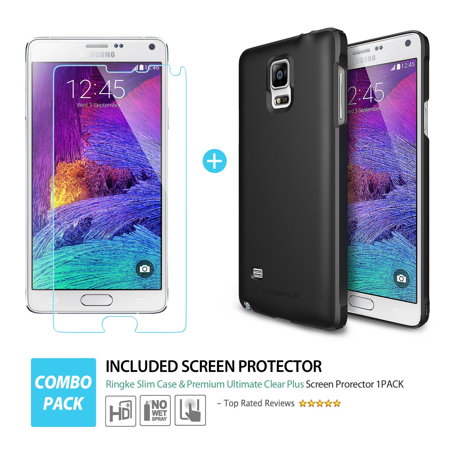 Amazon Ringke Cell Phone Case for Samsung Galaxy Note 4