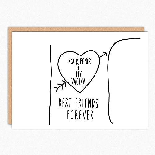 Funny Boyfriend Card 179 BFF Tree Trunk Gift Birthday