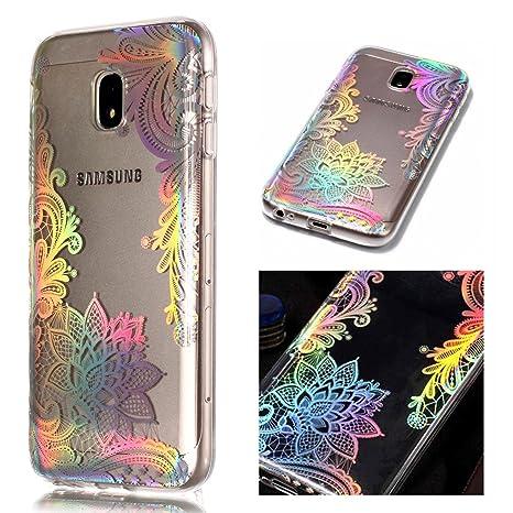 ZCRO TPU Hülle für Samsung Galaxy J5 2017 / J530, Handyhülle Ultra Dünn Case Silikon Schutzhülle Transparent Hüllen Slim Cove