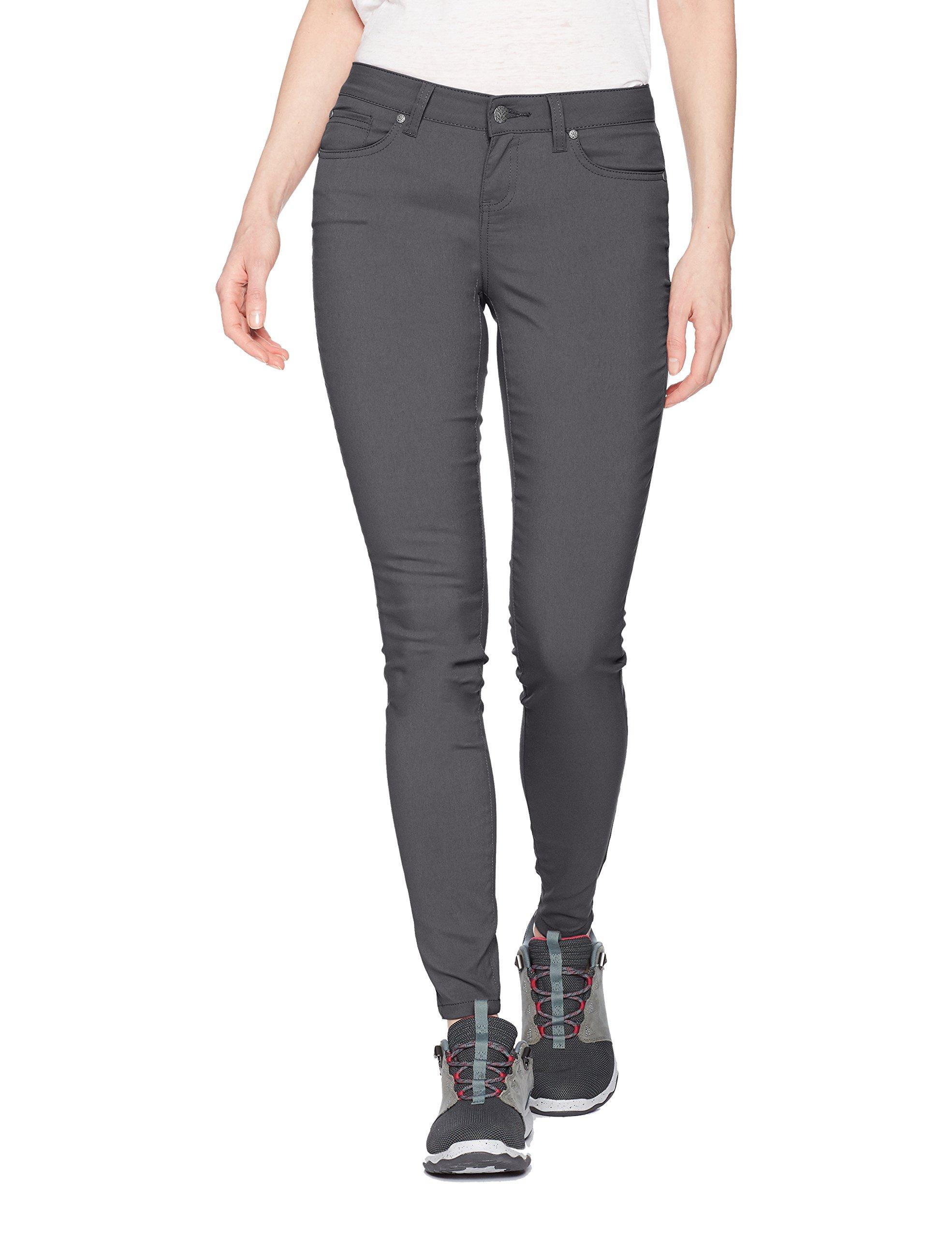 prAna Women's Briann Pant - Regular Inseam, Coal, 8
