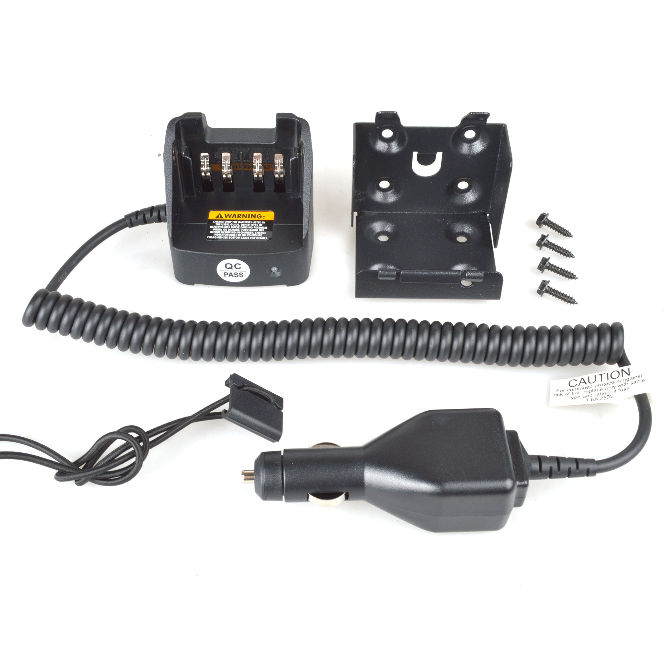 Guanshan RLN6433A Car Battery Charger for Motorola XPR7380 XPR7350 XPR7550 XPR6550 XPR6500 XPR6380 XPR6350 XPR6300 XPR3300 XPR3500 APX3000 APX4000 Radio