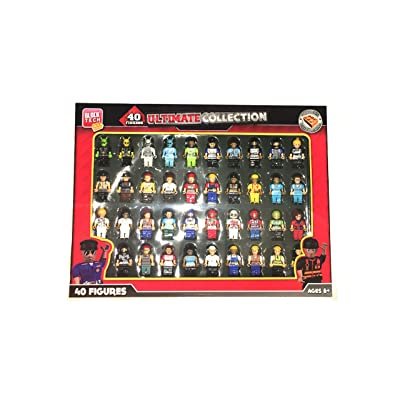 Block Tech 40 Figure Ultimate Collection Compatible with Other Leading Brands: Toys & Games