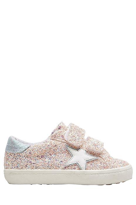 372ef290ebe Next Niñas Zapatillas de Deporte de Estrellas con Cierre de un Toque (Niña  pequeña) Purpurina Rosa EU 30.5: Amazon.es: Zapatos y complementos