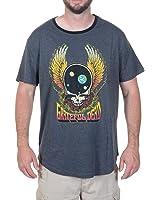 Grateful Dead Men's Short Sleeve T-Shirt Heather Anthra