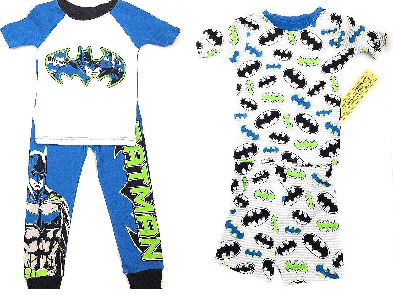 DC Comics Batman Cotton Sleepwear Set ~ 4 Piece