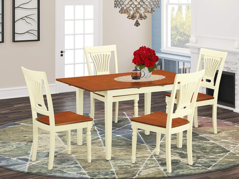 Amazon.com: 9 Pc Kitchen dinette set - Dinette Table and 9 dinette