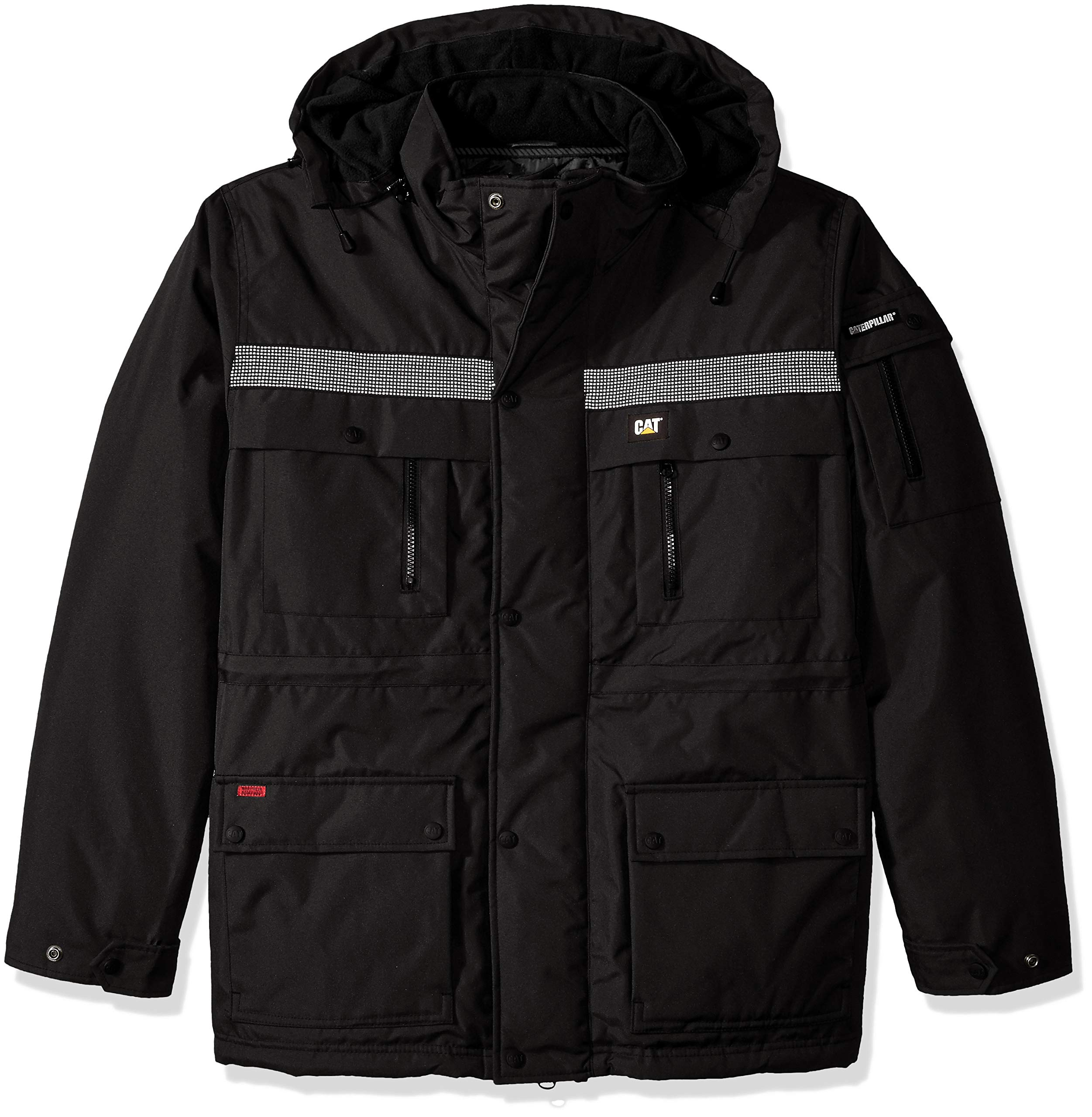 Caterpillar Men's Heavy Insulated Parka (Regular and Big & Tall Sizes), Black, Large by Caterpillar