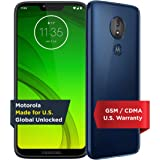 Motorola Moto G7 Power - Unlocked - 32 GB - Marine Blue (US Warranty) - Verizon, AT&T, T-Mobile, Sprint, Boost, Cricket…
